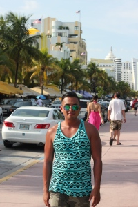 South Beach Miami. Ocean Drive