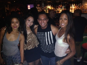 Just a ladies Man. South Beach Miami with my favorite ladies.