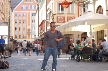 The streets of Munich Germany