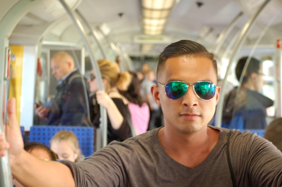 Train Ride in Munich